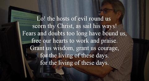 God of Grace, God of Glory Part 1