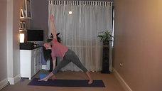 30min Beginners Yoga Wk 4 - Live Recording