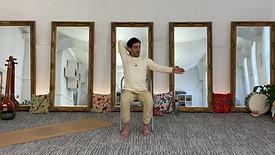 Chair yoga: upper body