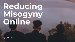 Reducing Misogyny Online