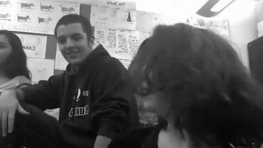 Eitan in Italian Class