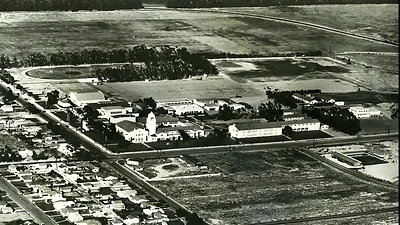Historical Newport Harbor High Trailer