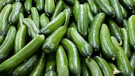 Gurken Wellenschnitt / Cucumbers Crimping Cut