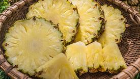 KA-1 Ananasscheiben / Pineapple Slicing