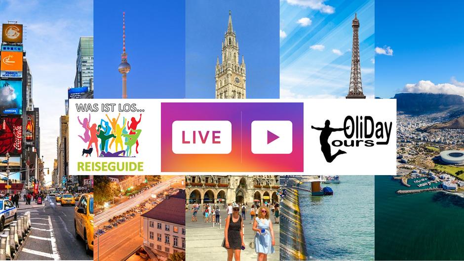 Livestreams mit Olidaytours
