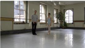 Chevalier Ballet's Artistic Director Sara Knight Teaches SLK Alumna, Erina Tanaka