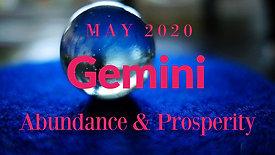 May 2020 | Gemini | JOY JOY JOY | Abundance EXT