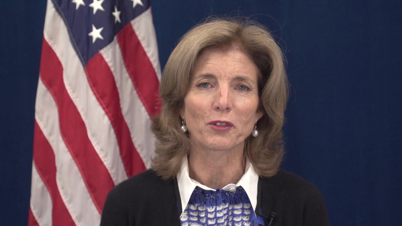 Message from former U.S. Ambassador to Japan, Ambassador Caroline Kennedy