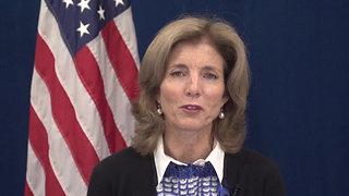 Message from former U.S. Ambassador to Japan, Ambassador Caroline Kennedy