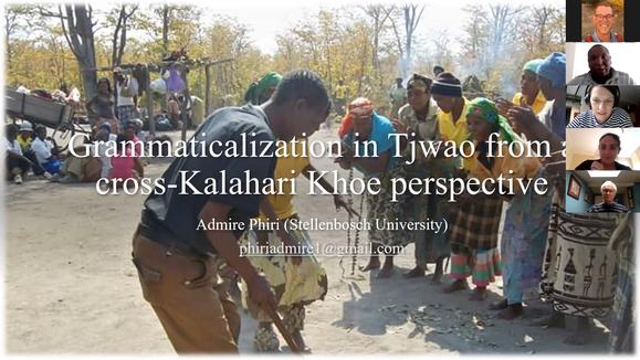 Admire Phiri // Grammaticalization in Tjwao from a cross-Kalahari Khoe perspective
