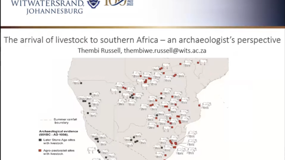 Thembi Russell // The arrival of livestock in Southern Africa - an archaeologist's perspective