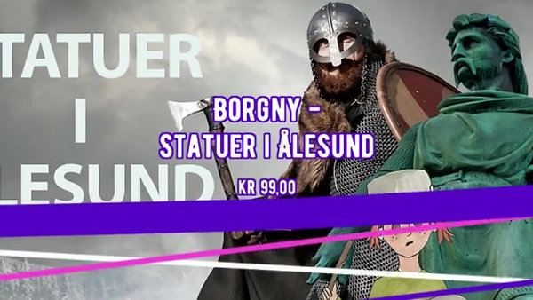 Borgny - Statuer i Ålesund