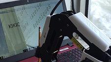 Le Dobot a pris le control du PC!