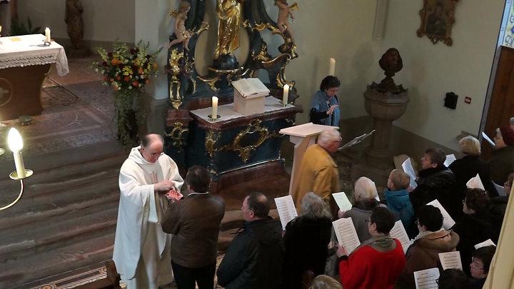 Inauguration de l'Ambon Eglise st Antoine de Bernardvillé
