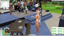 04 BBQ BRAWL!!  Sims 4 Gameplay  Ep. 4