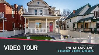 Video Tour: 120 W. Adams Ave.