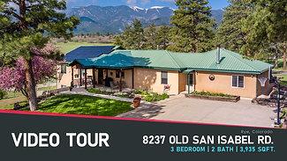 Video Tour: 8237 Old San Isabel Rd.   Branded