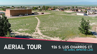 Aerial Tour: 926 S Los Charros Ct.   No Branding