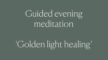 Heal while you Sleep. Golden Light Healing Meditation