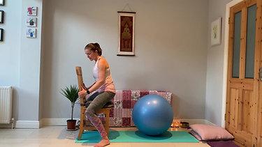 Birth Ball for Labour Pregnancy Yoga