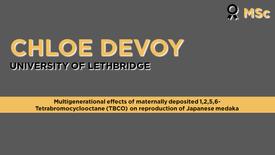 Multigenerational effects of maternally deposited 1,2,5,6-Tetrabromocyclooctane (TBCO) on reproduction of Japanese Medaka