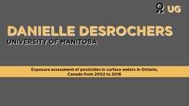 Exposure Assessment of Pesticides in Surface Waters of Ontario, Canada, from 2002 to 2016