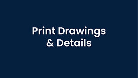 Printing Drawings and Details