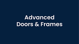 Advanced Doors and Frames