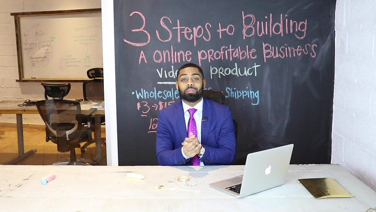 3 STEPS TO BUILDING A PROFITABLE ONLINE BUSINESS WITH PRINCE DONNELL