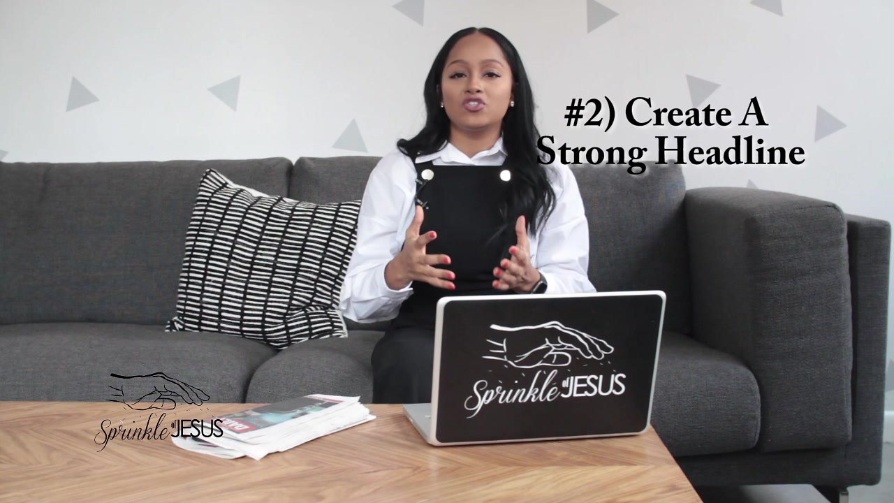 Sprinkle of Jesus How To Build A Profitable Ministry Course