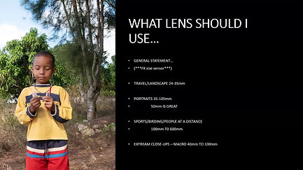 All About Lenses
