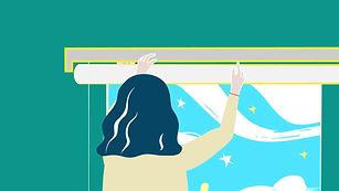 加點DIY窗簾