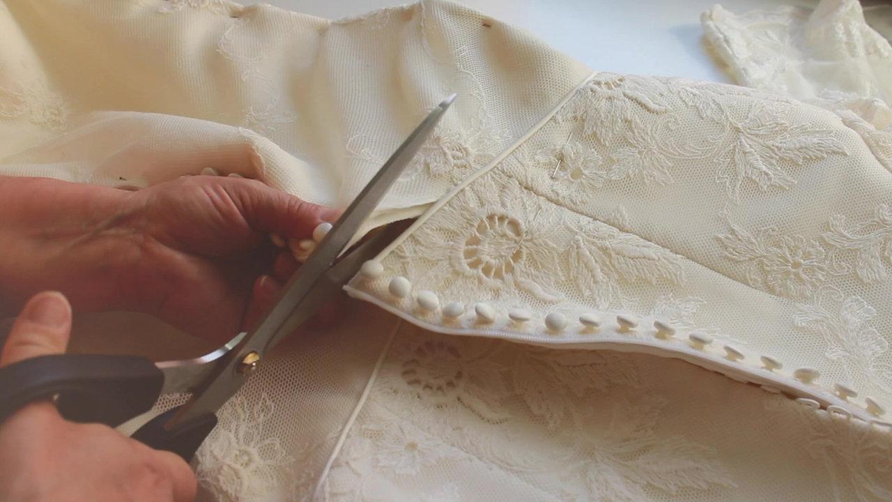 Customización de vestidos vintage