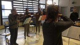 Atelier pratique collective - violons