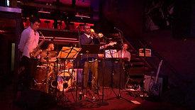 Live at NuBlu (NYC), performing 'ExchangingPleasantries'