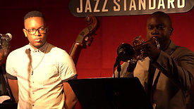 Live at the Jazz Standard (NYC), performing 'Minute Pieces of Wozzeck'