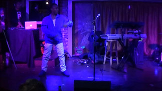 Yourz Truly  Do My Thang Live @ Apache Cafe (Highlights #2) AWOL Art Without Limitation