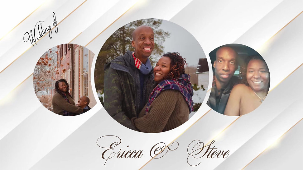 Ericca & Steve's Wedding