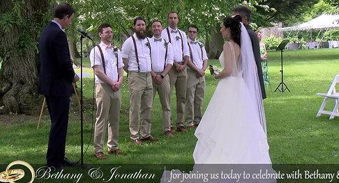 Bethany's & Jonathan's Ceremony