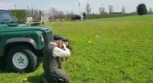 Davide Mengacci e l'Hunter Field Target presso Lombardia Field Target ASD
