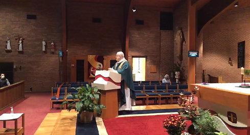 11/7 Vigil Mass