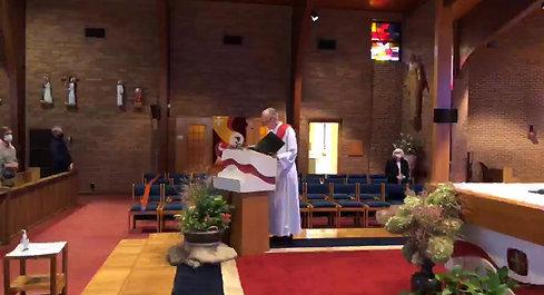 10/18 11:00 am Mass Saint Luke Church