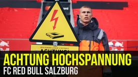 FC RED BULL SALZBURG: Achtung Hochspannung