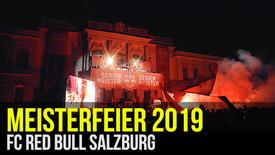 FC RED BULL SALZBURG: Meisterfeier 2019