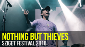 NOTHING BUT THIEVES: Sziget Festival 2018