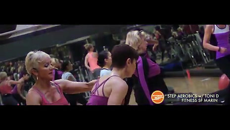 FITNESS SF STEP AEROBICS w Toni D
