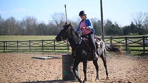 Elisha & Axel - Working Equitation clinic