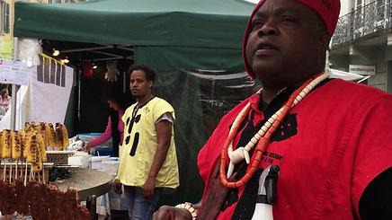 Auf dem Afro-Markt