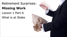 Retirement Kickstart Surprise #1-Miss Work Part A