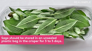 HOW TO STORE AND USE FRESH HERBS BY REALSIMPLE